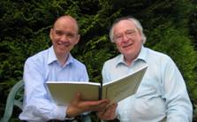 Gordon Stewart (conductor) & Andrew Carter (composer)
